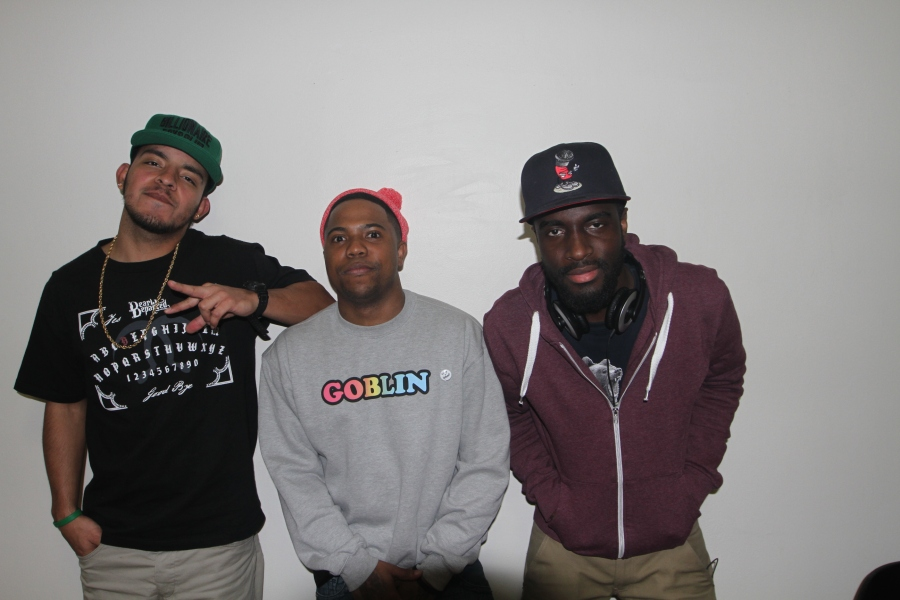 Myself, Domingo Payso & Outlaw Artist